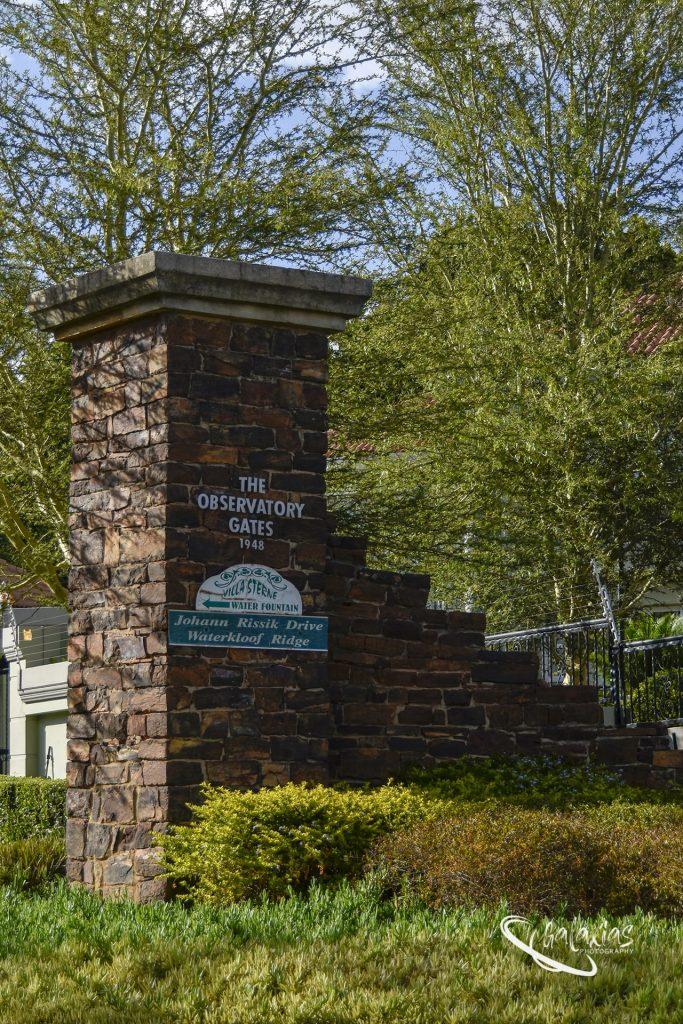 Pretoria_the forgotten history. The Observatory Gates (1948